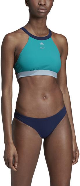 adidas Pro EBS 2 Piece Bikini Dam shock cyan